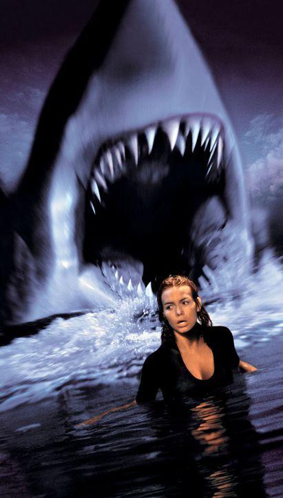 Der Wissenschaftlerin Dr. Susan McAlester (Saffron Burrows) gleitet ein Experiment mit Haien aus den Händen ... - Bildquelle: Warner Bros. Pictures