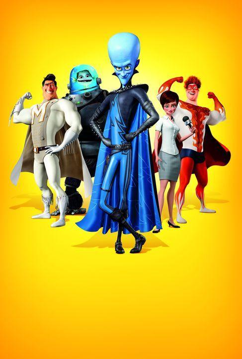 MEGAMIND - Artwork - Bildquelle: MEGAMIND TM &   2012 DreamWorks Animation LLC. All Rights Reserved.