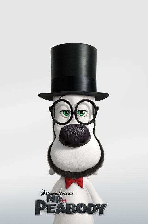 DIE ABENTEUER VON MR. PEABODY & SHERMAN - Plakat - Bildquelle: 2014 DreamWorks Animation, L.L.C.  All rights reserved.