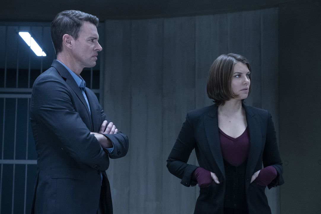 Will Chase (Scott Foley, l.); Frankie Trowbridge (Lauren Cohan, r.) - Bildquelle: Larry D Horricks 2018 American Broadcasting Companies, Inc. All rights reserved.