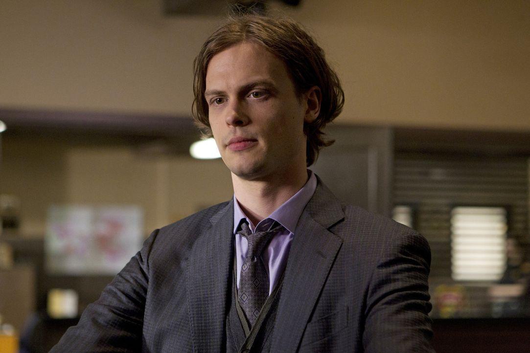 Gemeinsam mit seinen Kollegen, reist Reid (Matthew Gray Gubler) nach Rapid City um den Mord an Männern aufzudecken, die auf rituelle Weise... - Bildquelle: ABC Studios