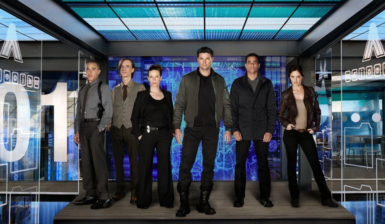 (1. Staffel) - Eigentlich wollen alle für die Sicherheit sorgen, doch ihre Methoden könnten unterschiedlicher nicht sein: Detective Richard Paul (Mi... - Bildquelle: Warner Bros. Television