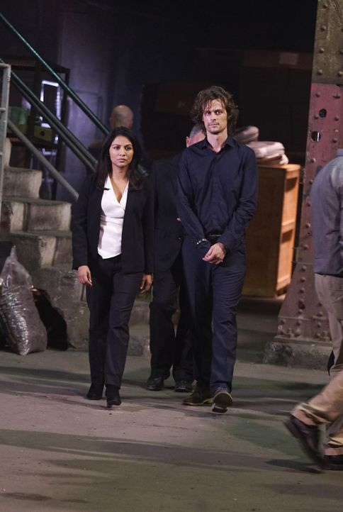 (v.l.n.r.) Mary Meadows (Karen David); Spencer Reid (Matthew Gray Gubler) - Bildquelle: Cliff Lipson 2006 Touchstone Television. All rights reserved. NO ARCHIVE. NO RESALE./Cliff Lipson