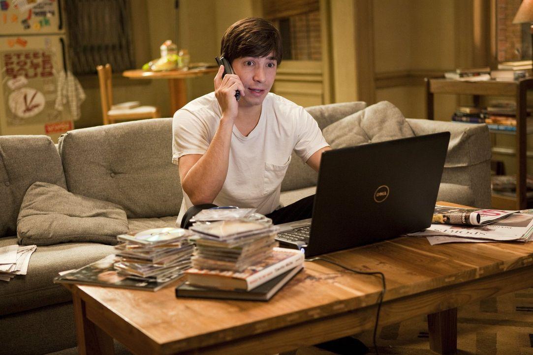 Sind ständige Telefonate wirklich ausreichend? Garrett (Justin Long) hofft darauf, dass Erin und er, entgegen aller Vermutungen von Freunden und der... - Bildquelle: 2010 Warner Bros.