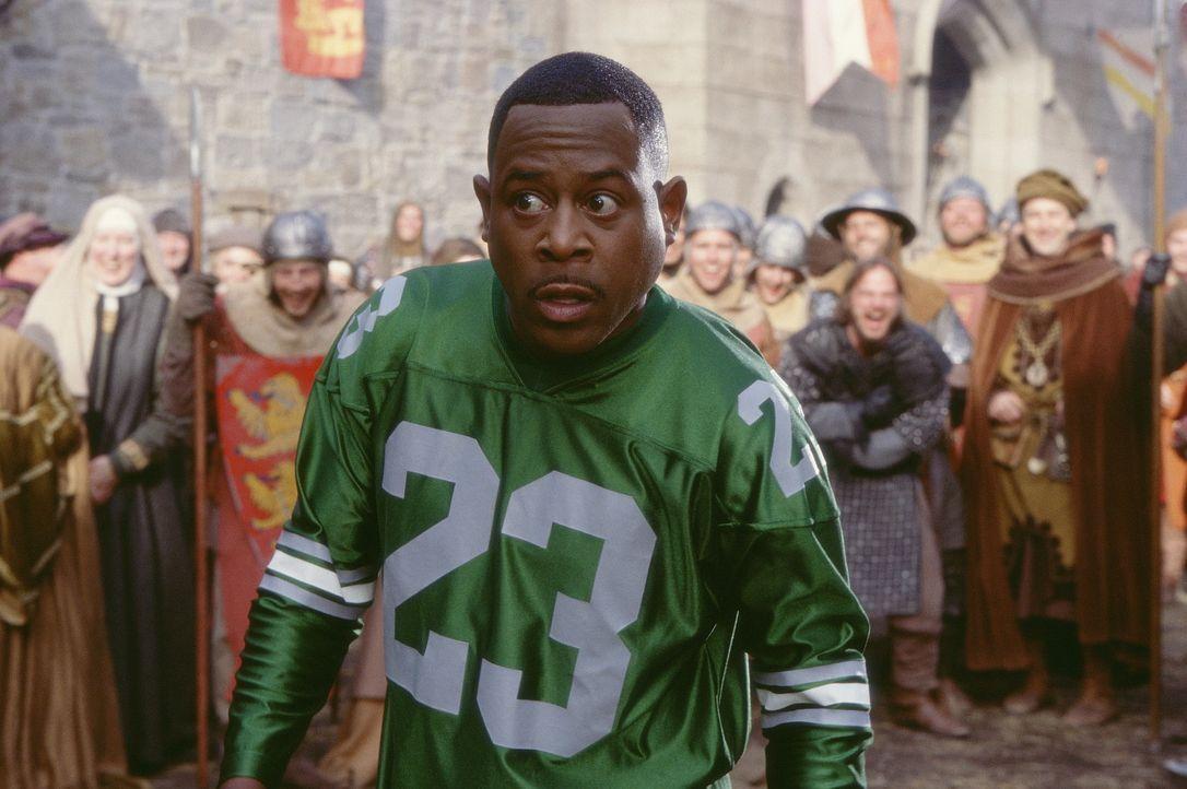 Im echten Mittelalter vergeht Jamal (Martin Lawrence) schon bald das Lachen ... - Bildquelle: 20th Century Fox