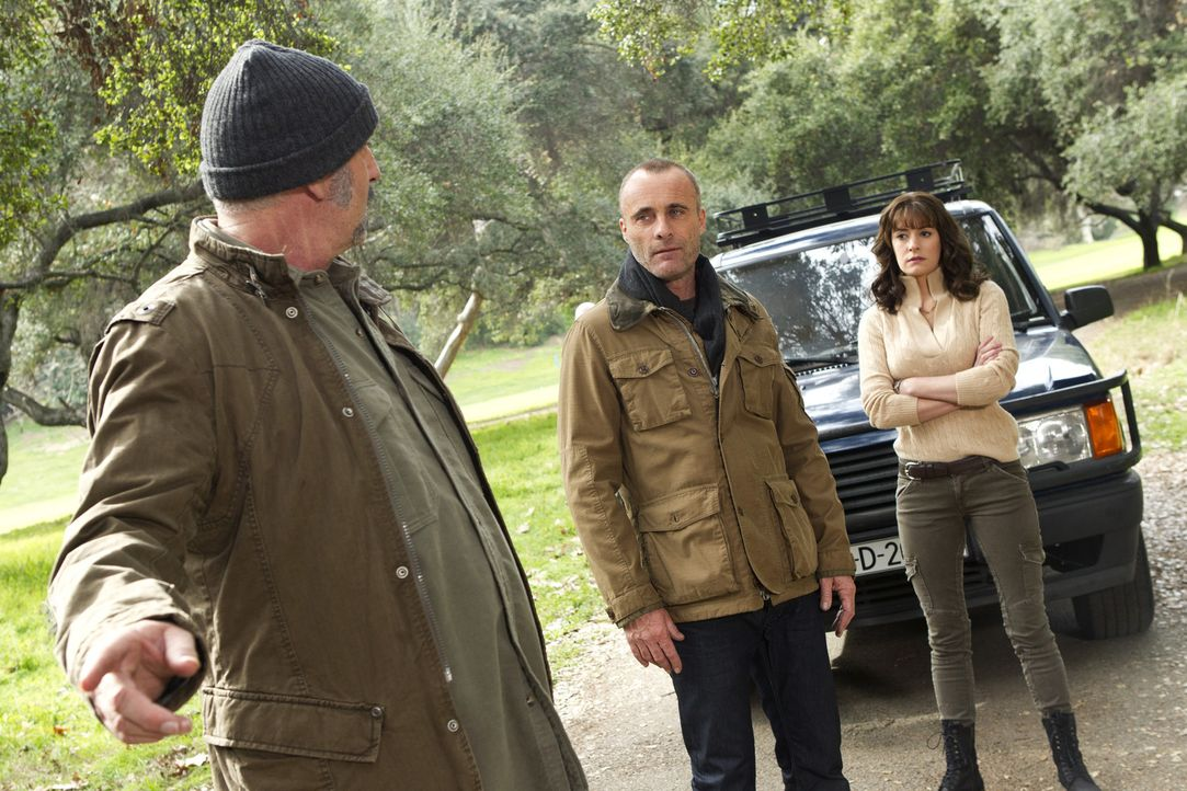 Rückblick: Prentiss aka Lauren Reynolds(Paget Brewster, r.) ist undercover hinter Ian Doyle (Timothy V. Murphy, M.) her ... - Bildquelle: ABC Studios