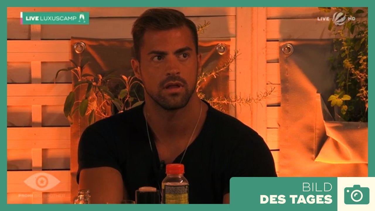 """Promi Big Brother"" 2019 - Tag 7 Tobi ist fassungslos - Bildquelle: SAT.1"