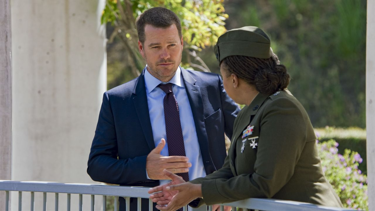 Special Agent G. Callen (Chris O'Donnell) - Bildquelle: Sonja Flemming 2020 CBS Broadcasting Inc. All Rights Reserved. / Sonja Flemming