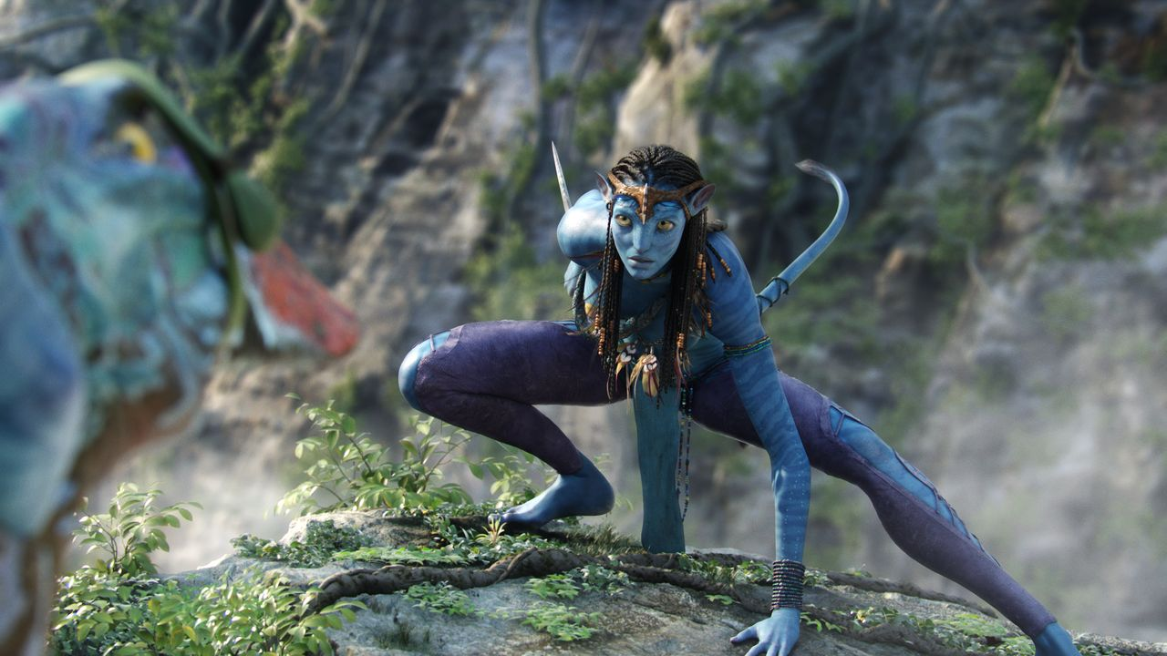 Neytiri (Zoe Saldana) - Bildquelle: TM & © 2007 Twentieth Century Fox - All Rights Reserved - Not for sale or duplication./ Courtesy of WETA