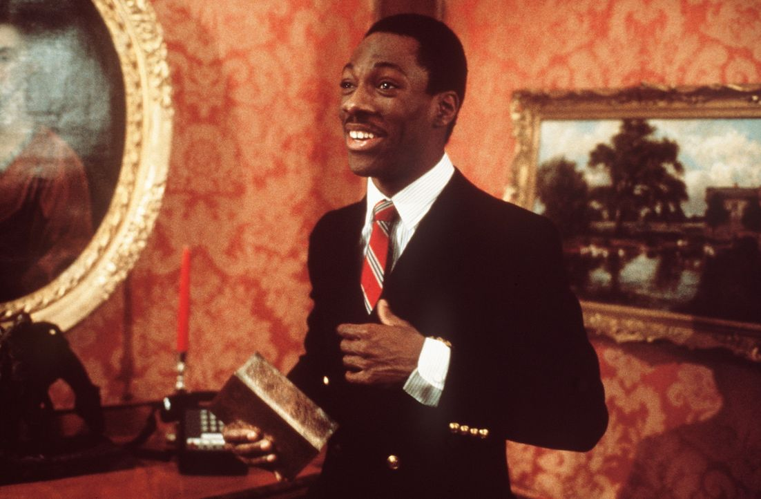 """""""Vom Tellerwäscher zum Millionär"""": Der ehemalige Straßenpenner und Trickbetrüger Billy Ray (Eddie Murphy) kann sein Glück kaum glauben, auf ein... - Bildquelle: Paramount Pictures"""
