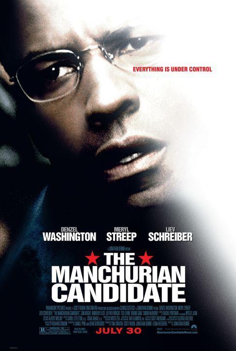 Der Manchurian Kandidat - Kann ein Alptraum Wirklichkeit werden? Ben Marco (Denzel Washington) ... - Bildquelle: Paramount Pictures