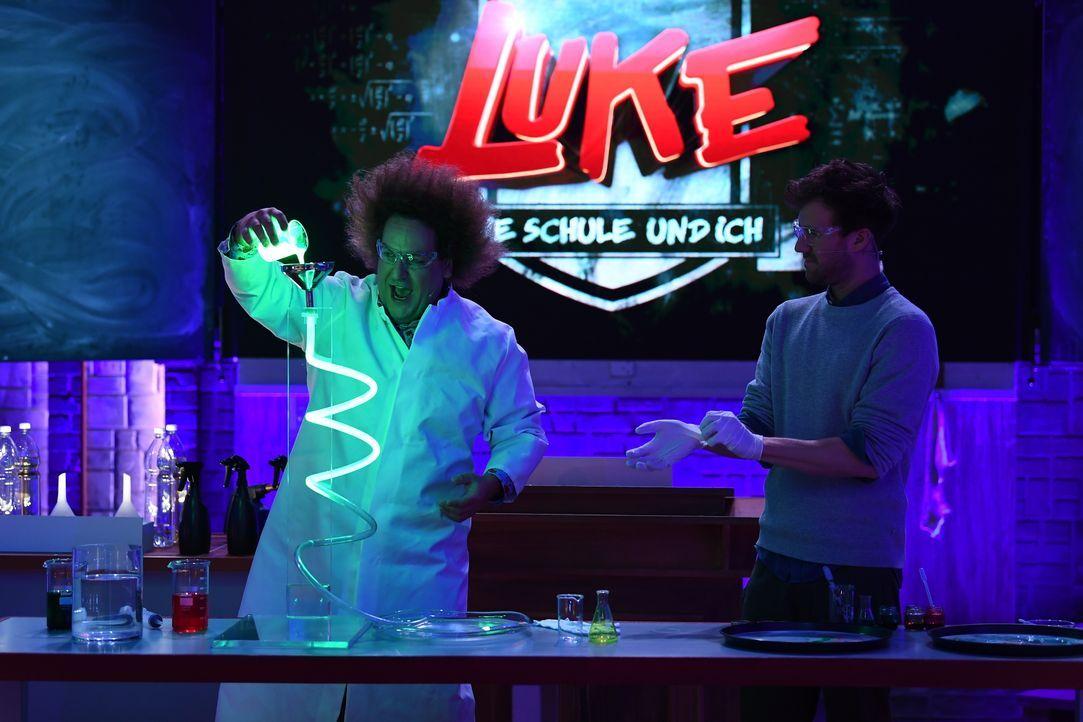 Konrad Stöckel (l.); Luke Mockridge (r.) - Bildquelle: Willi Weber SAT.1 / Willi Weber