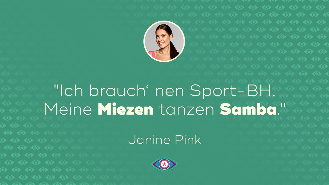 Promi Big Brother Tag 13_ Janines Miezen tanzen