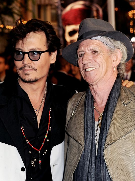 Johnny-Depp-Keith-Richards-11-05-07-getty-AFP - Bildquelle: getty-AFP