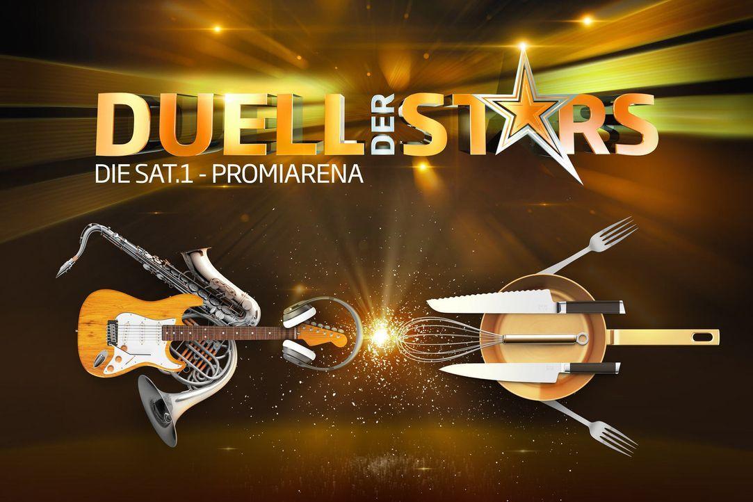 """In """"Duell der Stars - Die SAT.1-Promiarena"""" treten zwei Promi-Teams in spannenden Spielrunden in verschiedenen Kategorien gegeneinander an. - Bildquelle: SAT.1"""