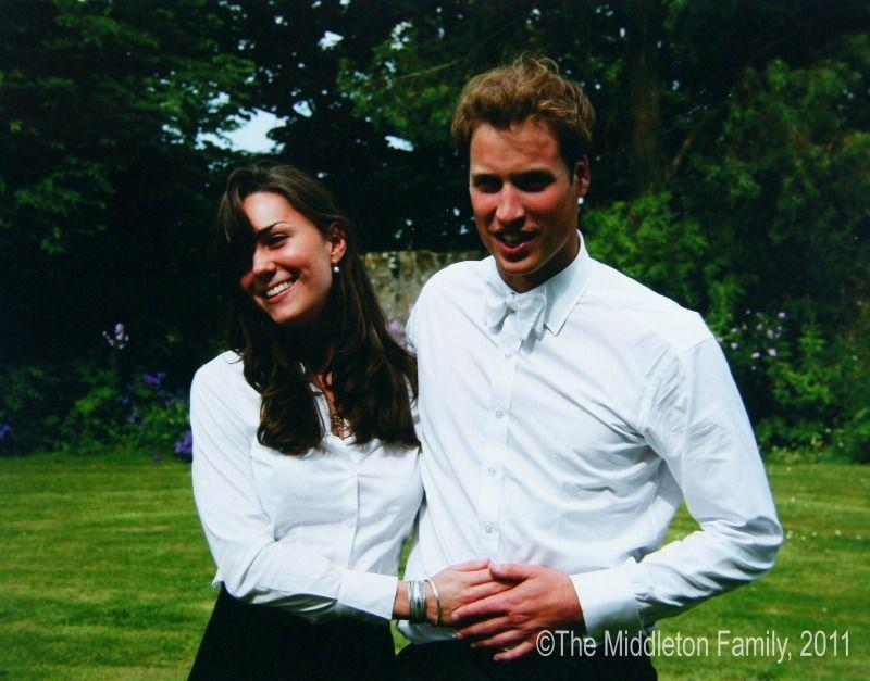 Das KennenlernenAn der St. Andrews University in Schottland studierten Kate ... - Bildquelle: dpa - Picture Alliance