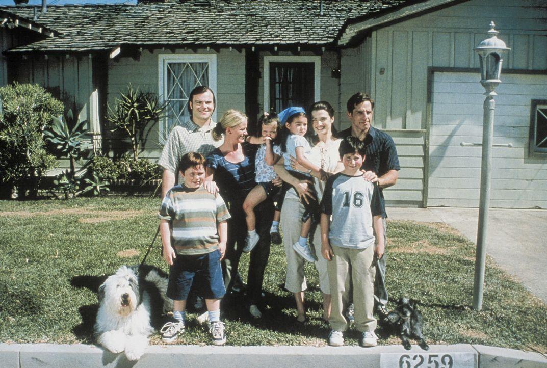 Tim (Ben Stiller, hinten r.) und Nick (Jack Black, hinten l.) sind Kollegen, beste Freunde und Nachbarn. Sie führen ein harmonisches Leben. Aber als... - Bildquelle: Sony 2007 CPT Holdings, Inc.  All Rights Reserved.