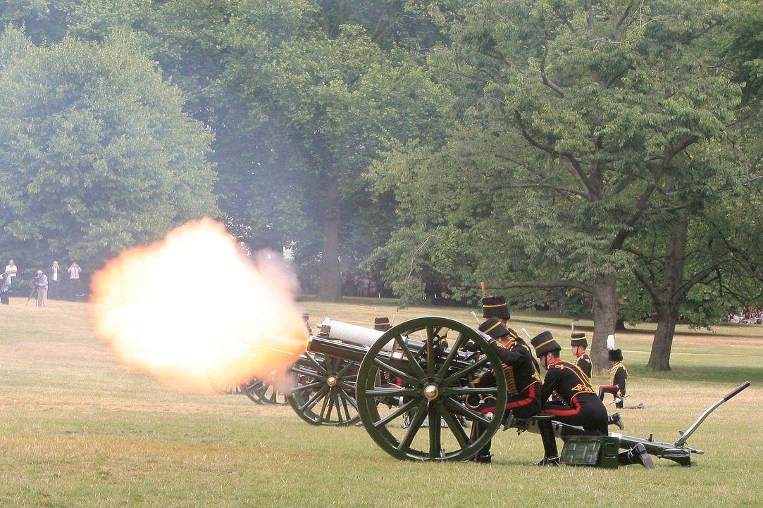 Im Hyde-Park standen die Kanonen - Bildquelle: usage Germany only, Verwendung nur in Deutschland