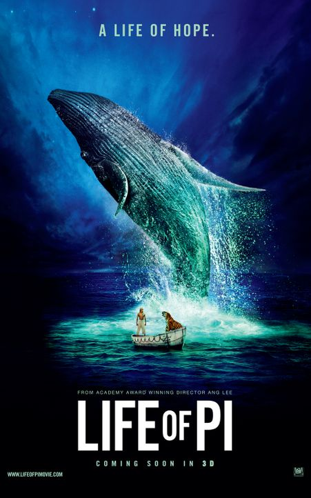 LIFE OF PI - Plakatmotiv - Bildquelle: 2012 Twentieth Century Fox Film Corporation. All rights reserved.