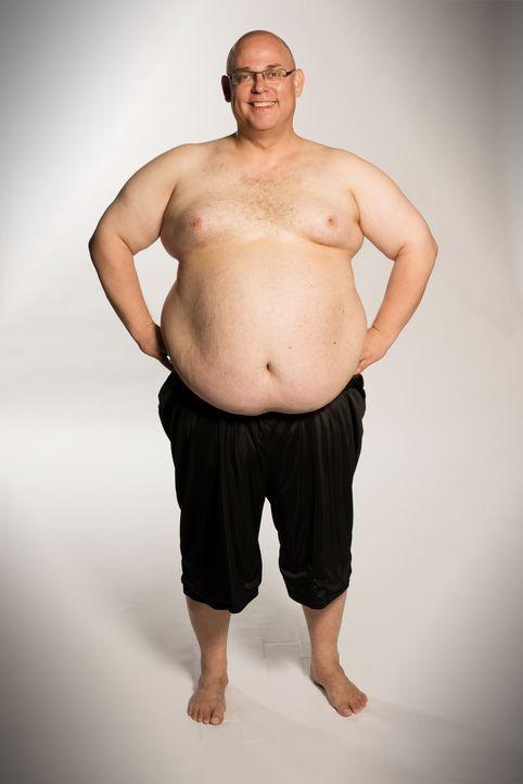 Vor knapp 3 Jahren hatte Bernd schon mal über 50 Kilo abgenommen. Das will er wieder schaffen und dieses Mal auch unbedingt halten. - Bildquelle: Martin Rottenkolber Sat. 1