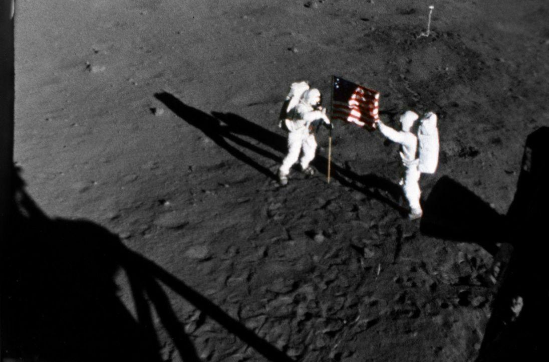 Mission Mond - Als die Welt den Atem anhielt - Bildquelle: Spiegel TV