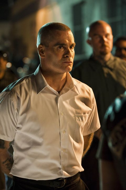 "Der überzeugte Arier AJ Weston (Henry Rollins) setzt alles daran, die ""Sons of Anarchy"" aus dem Verkehr zu ziehen ... - Bildquelle: 2009 Twentieth Century Fox Film Corporation and Bluebush Productions, LLC. All rights reserved."