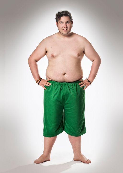 """Möchte bei """"The Biggest Loser - Teens"""" durchstarten in ein neues leichteres Leben: Daniel - Bildquelle: Morris MacMatzen SAT.1"""