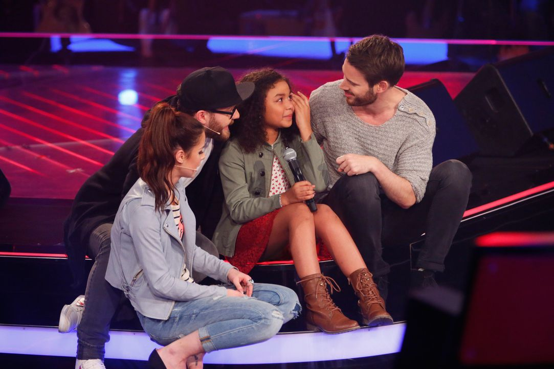 The-Voice-Kids-s03e01-danach-Zoe-08 - Bildquelle: SAT.1/ Richard Hübner