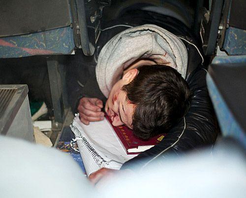 Ein schrecklicher Unfall ist geschehen und es gibt einige Verletzte. Doch wie steht es um Timo? - Bildquelle: David Saretzki - Sat1