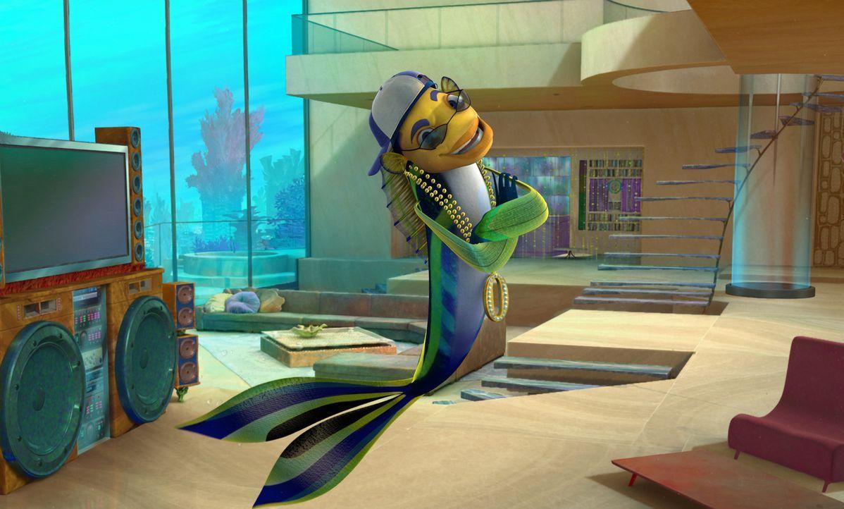 Durch einen unglücklichen Zufall wird Oscar als Haikiller gefeiert und kann - zum Werbeheld mutiert - alle seine materiellen Träume erfüllen ... - Bildquelle: United International Pictures