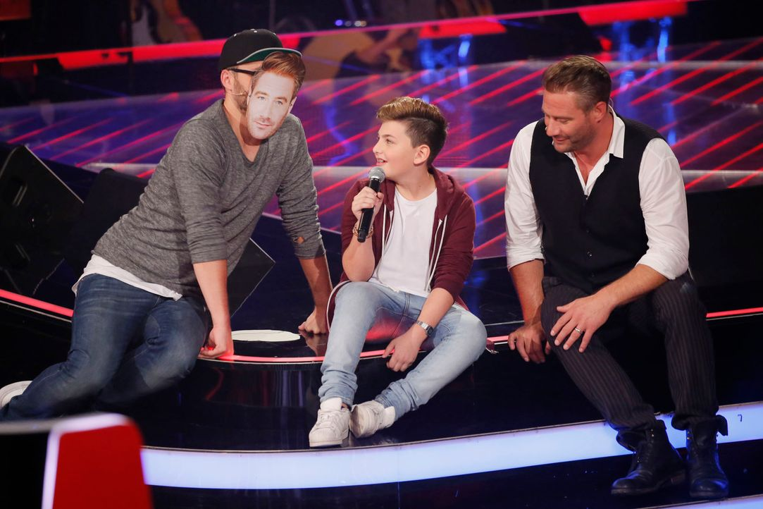 The-Voice-Kids-s04e02-Merdan-7-SAT1-Richard-Huebner - Bildquelle: © SAT.1/ Richard Hübner