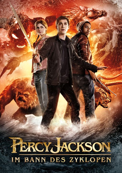 PERCY JACKSON IM BANN DES ZYKLOPEN - Plakatmotiv - Bildquelle: 2013 Twentieth Century Fox Film Corporation.  All rights reserved.