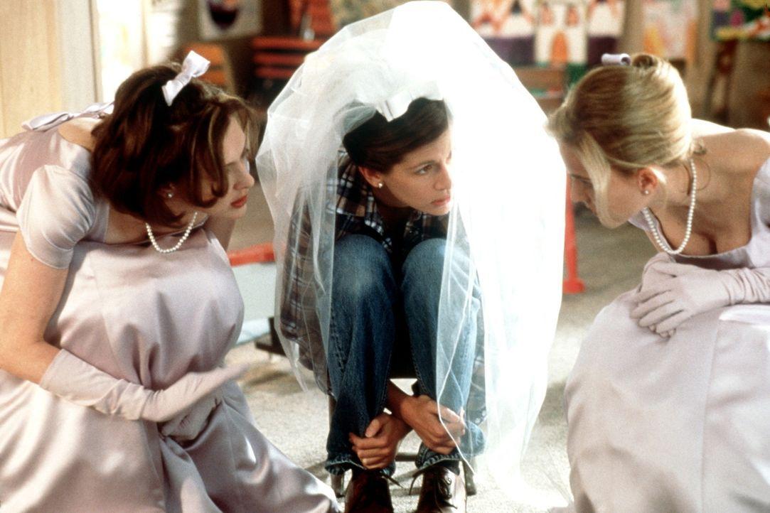 Wird sich Maggie Carpenter (Julia Roberts, M.) nun endlich trauen? - Bildquelle: Buena Vista International