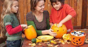 Auch mit Kindern ist das Basteln ein großer Spaß – beziehen Sie sie ruhig mit...