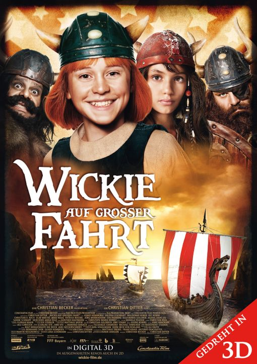 Wickie auf großer Fahrt - Plakatmotiv - Bildquelle: Constantin Film Verleih GmbH
