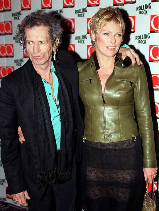 Keith-Richards-Patty-1999-11-03-dpa - Bildquelle: dpa