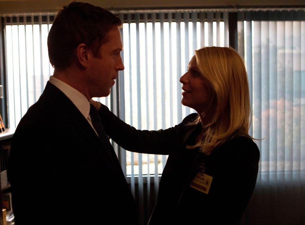 Carrie (Claire Danes, r.) und Brody (Damian Lewis, l.) versuchen herauszufinden, ob sie ihre Beziehung vertiefen wollen. Gerade, als Carrie sich daf... - Bildquelle: 20th Century Fox International Television