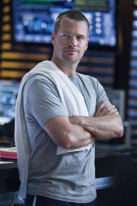 Versucht, gemeinsam mit seinen Kollegen einen neuen Fall zu lösen: Callen (Chris O'Donnell) ... - Bildquelle: CBS Studios Inc. All Rights Reserved.