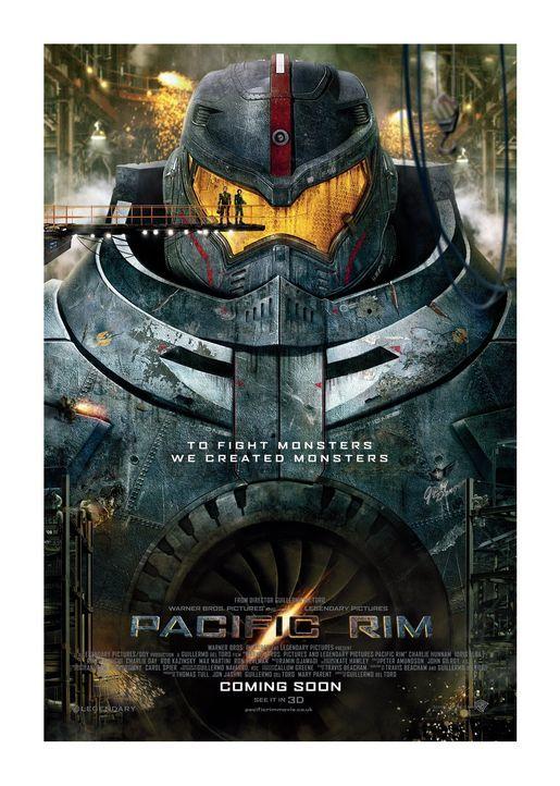 PACIFIC RIM - Plakatmotiv - Bildquelle: 2013 Warner Bros. Entertainment Inc. and Legendary Pictures Funding, LLC
