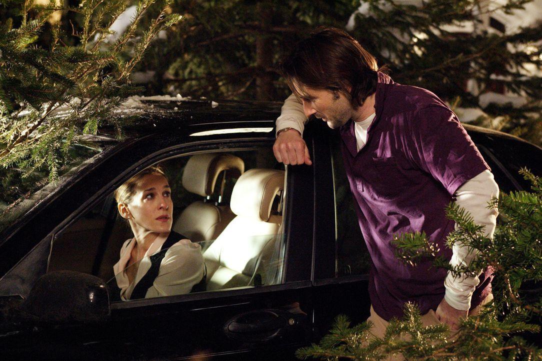 Immer wieder tritt Meredith (Sarah Jessica Parker, l.) von einem Fettnäpfchen in das nächste. Als sie sich beim Festessen bei der Familie ihres Freu... - Bildquelle: 2005 Twentieth Century Fox Film Corporation.  All rights reserved.