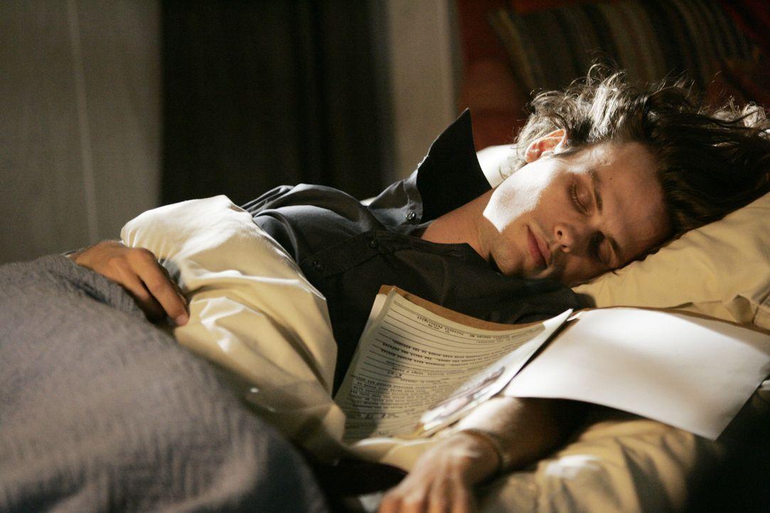 Ihn plagen Träume, die aus seinem Unterbewusstsein kommen und mit einem neuen Fall korrespondieren: Reid (Matthew Gray Gubler) ... - Bildquelle: Touchstone Television