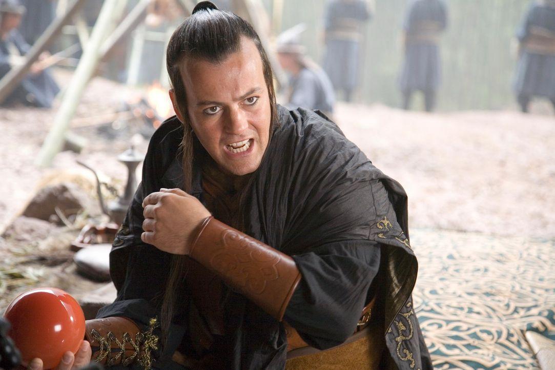 Aus lauter Eifersucht lässt sich Ting Ting vor den Karren des hemmungslosen Prinzen des Nordens (Rupert Graves) spannen. Doch dann werden D.B. und B... - Bildquelle: RHI Entertainment