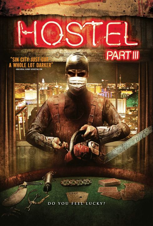 HOSTEL III - Plakatmotiv - Bildquelle: 2011 Stage 6 Films, Inc. All Rights Reserved.