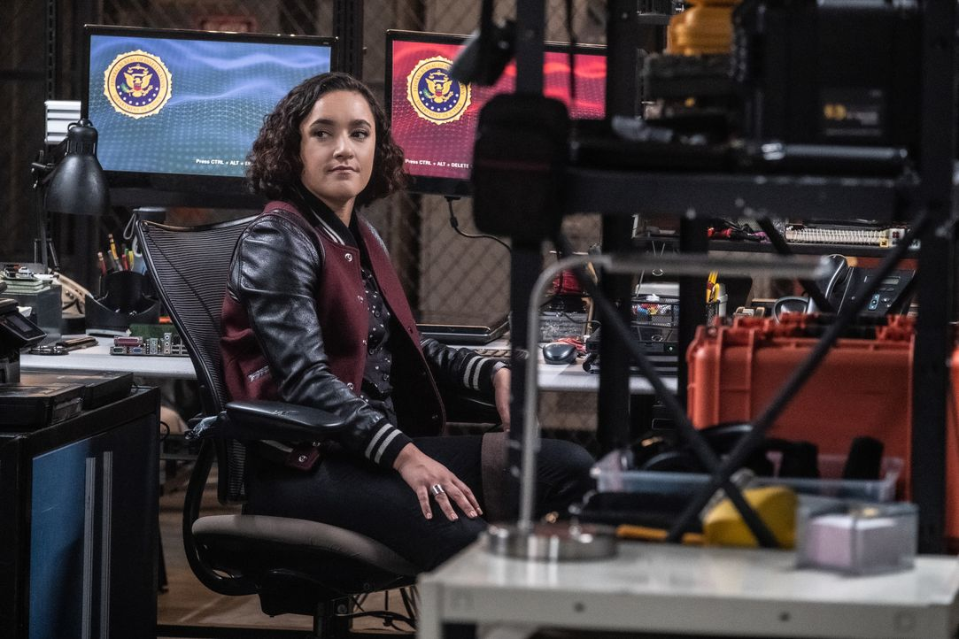 Hana Gibson (Keisha Castle-Hughes) - Bildquelle: Jeff Neumann 2019 CBS Broadcasting, Inc. All Rights Reserved / Jeff Neumann