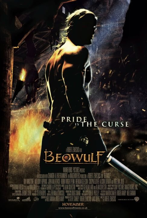 DIE LEGENDE VON BEOWULF - Plakatmotiv - Bildquelle: 2007 Warner Brothers International Television Distribution Inc.