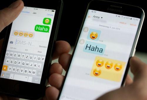 2. Wie kann man eine Nachricht an mehrere Empfänger schicken, ohne eine Grup...