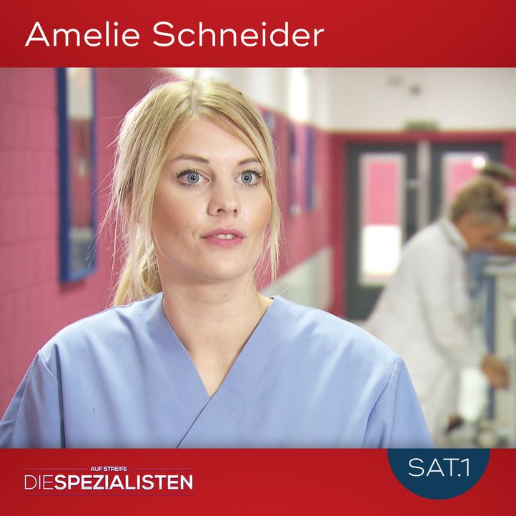 Amelie Schneider - Bildquelle: SAT.1