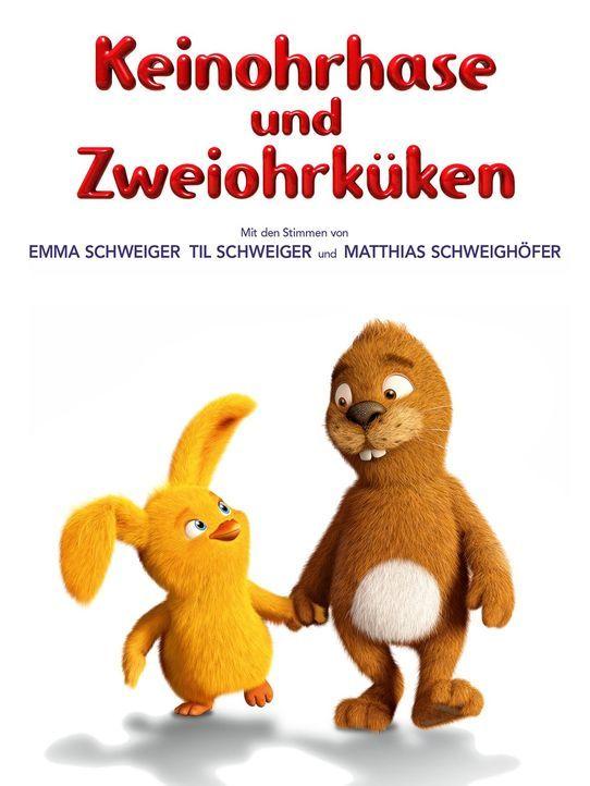 KEINOHRHASE UND ZWEIOHRKÜKEN - Plakat - Bildquelle: Warner Brothers