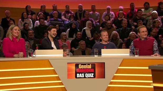 Genial Daneben - Das Quiz - Genial Daneben - Das Quiz - Trägt Dieser Kandidat Ein Brett Mit Schinken Um Den Hals?!