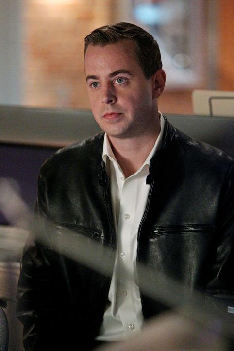 McGee (Sean Murray) stellt der Tod eines Marineoffiziers vor ein Rätsel. Ob die Saft-Diät, die er gemeinsam mit DiNozzo macht, seine grauen Zellen i... - Bildquelle: CBS Television